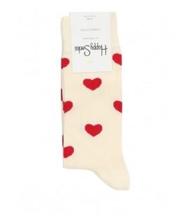 Happy Socks Erkek Çorap Hpshea01-1000 Kırmızı Beyaz