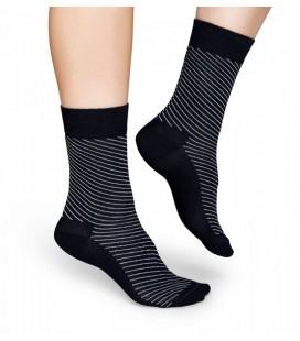 Happy Socks Erkek Çorap Hpsdts01-9000 Gri Siyah
