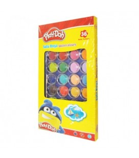 Playdoh 36 Renk Suluboya 23Mm PLAY-SU010