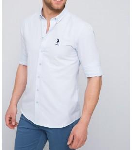 U.S. Polo Assn. Erkek Beyaz Gömlek G081GL004.AVİL.443769