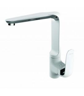 Penta Beyaz Banyo  Bataryası Tek Gövde Evye 6055W