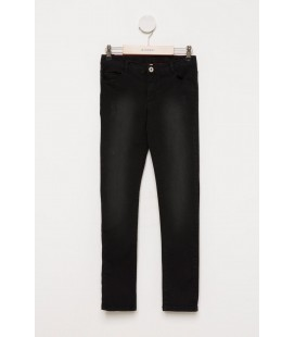DeFacto Siyah Genç Kız Slim Fit Denim Pantolon H0217A6.BK28