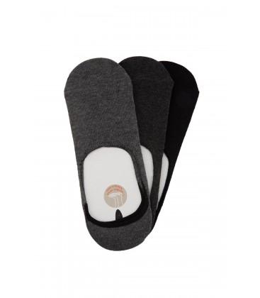 DeFacto Erkek 3'lü Kısa Çorap H5355AZ.17AU.NV2