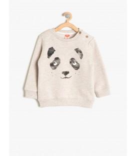 Koton Baskılı Sweatshirt 8KMB18839OK050