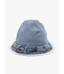 Koton Kız Çocuk Desenli Şapka  7YMG41005OA600
