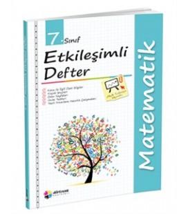 7.Sınıf Matematik Etkileşimli Defter Dörtrenk Yayınları