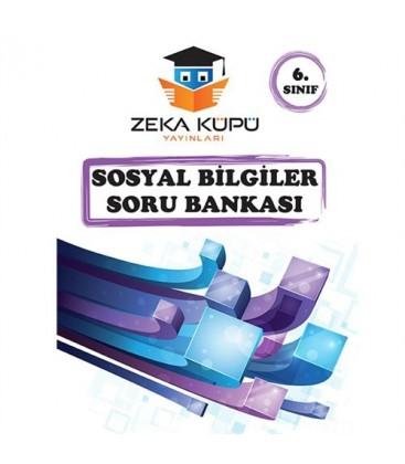 6. Sınıf Sosyal Bilgiler Soru Bankası Zeka Küpü Yayıncılık