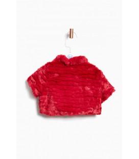 BG Store Lia Lea Kız Çocuk Kırmızı Yelek 3636LLB1301