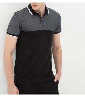 Koton Dar Kesim, Kısa Kollu, Polo Yaka T-Shirt  7KAM19091OKH15