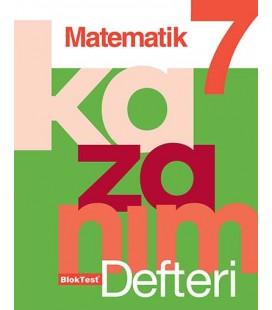 7. Sınıf Matematik Kazanım Defteri Bloktest Yayınları