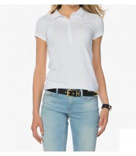 Mavi Polo Yaka Beyaz Tişört 163729-20176