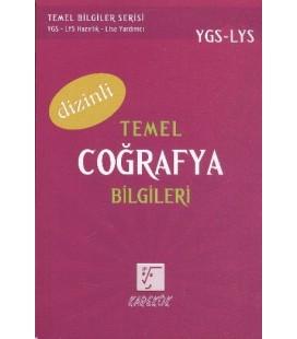 YGS-LYS Temel Coğrafya Bilgileri (Dizinli) Karekök Yayınları