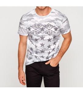 Koton Bisiklet Yaka, Kısa Kollu T-Shirt  7YAM11808CK04F