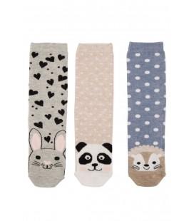DeFacto Kadın 3'lü Çorap Seti H6683AZ