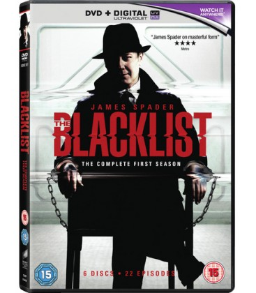 The Blacklist The Complete First Season 6 Discs 22 Episodes