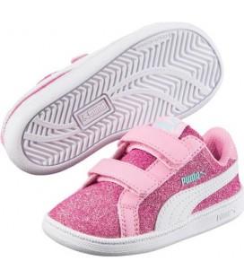 Puma Bebek Ayakkabısı 362957-01 Smash Glitz Glamm