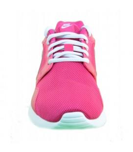 Nike Bayan Ayakkabı 654845-601 Wmns Nike Kaishi / Fireberry/Mtlc Platinum-White