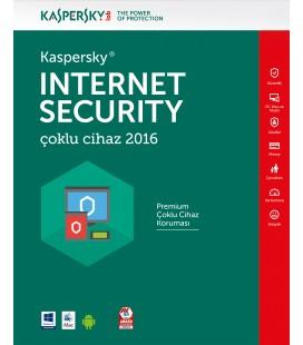 Kaspersky Internet Security Çoklu Cihaz 2016 1 Kullanıcı 1 Yıl