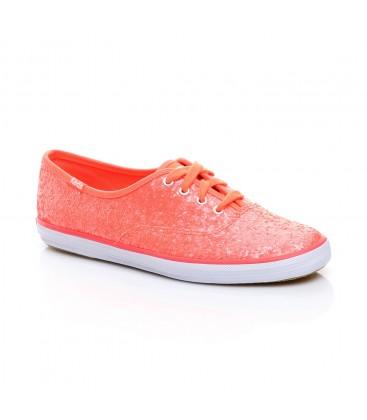 Keds Champion Glitter Kadın Pembe Sneaker WF54537-065