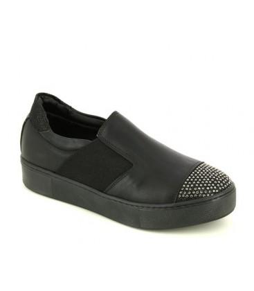 City Life Kadın Siyah Slip On Ayakkabı 4345412601200