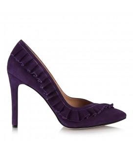 Hotiç Rosella Mor Kadın Topuklu Ayakkabı 11067