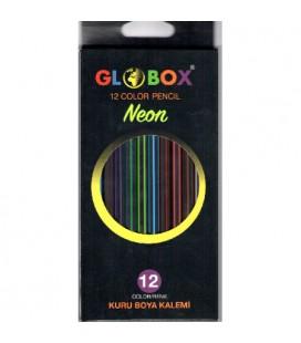 Globox Neon 12 li Kuru Boya Kalemi 2588
