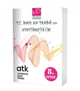 Kavram Yayınları 8.Sınıf T.C İnkılap Tarihi ve Atatürkçülük Anlatımlı Test Kitabı