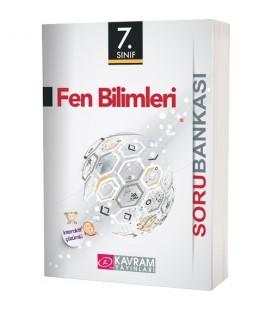 Kavram Yayınları  7.Sınıf Fen Bilimleri Soru Bankası