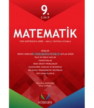 Köşegen Yayınları 9. Sınıf Matematik Fasikül Seti
