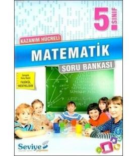5.Sınıf Matematik + Konu Özeti Fasikülü Kazanım Hücreli Soru Bankası Seviye Yayınları