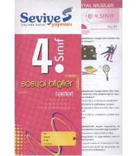 4.Sınıf Sosyal Bilgiler Yaprak Test Seviye Yayınları