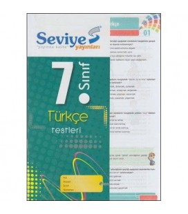 7. Sınıf Türkçe Yaprak Test Seviye Yayınları