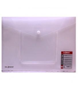 Globox Çıtçıtlı Dosya Cd Zarflı Şeffaf 6893