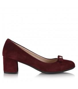 Hotiç Tikko Bordo Kadın Topuklu Ayakkabı 11166
