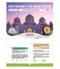 8. Sınıf Dört Mevsim Din Kültürü ve Ahlak Bilgisi Çek Kopar Testler - Kültür Yayıncılık