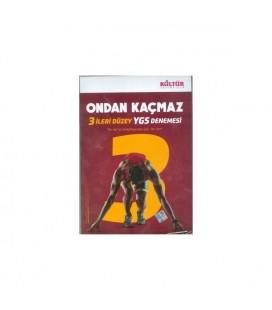 YGS Ondan Kaçmaz 3 İleri Düzey Deneme - Kültür Yayınları