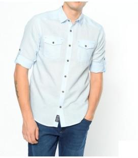 Mavi Erkek Slim Fit Çift Cepli Gömlek 0254323080