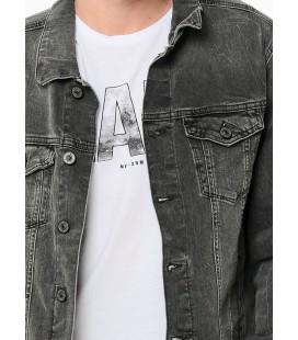 Mavi Jean Ceket   0115212894 Frank Grey Kiev Comfort Erkek Kot Ceket
