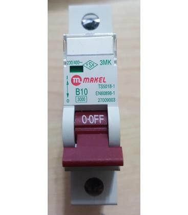 Makel B 10A 1P Otomatik Sigorta