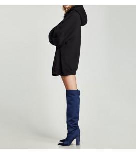 Zara Kapüşonlu Oversize Sweatshirt 1701 200