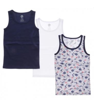 Athlete 1715809 Colorless Poncho Boy Threesome