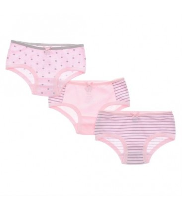 1715802 Colorless Poncho Girl Boy Threesome Panties