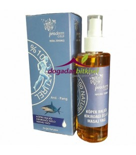 Proderm Concise massage oil 150 ml Gold shark cartilage
