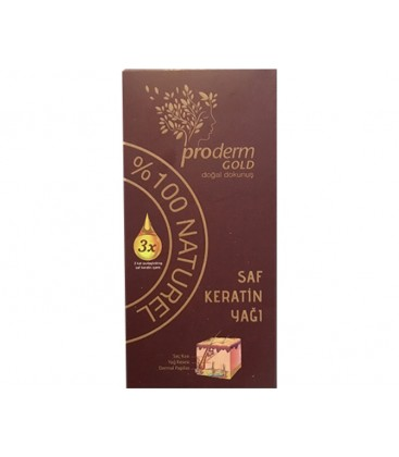 Proderm Gold Saf Keratin Yağı 50 ml