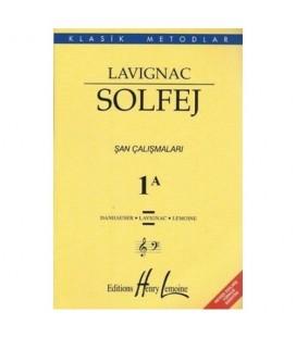Lavignac Solfej 1A - Danhauser - Lavignac - Lemoine