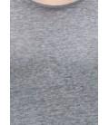 Gray Blue Men's T-Shirt, Slim Fit, 064325-23647