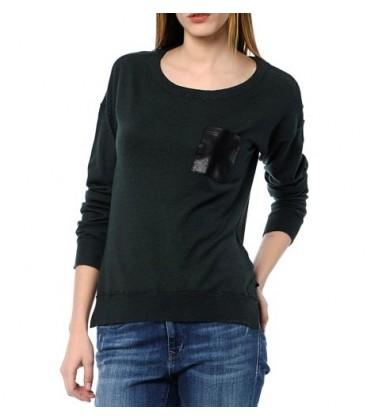 Dark Blue Lady's Sweater 170379-18821 Yesil