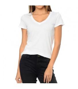 Mavi Tişört 164596-620 Basic V Yaka Penye Beyaz