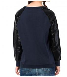 Mavi Kadın Sweatshirt 164436-18822 Derı Detaylı Sweatshırt