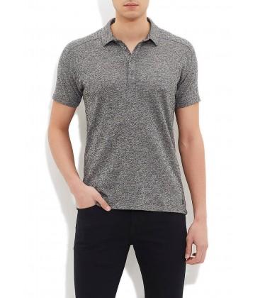 Blue 064153-23190 a polo shirt Polo T-Shirt dark grey